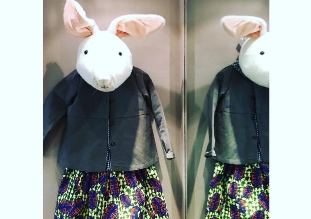New outfit per il Bianconiglio @douuodkids @stellajeanltd